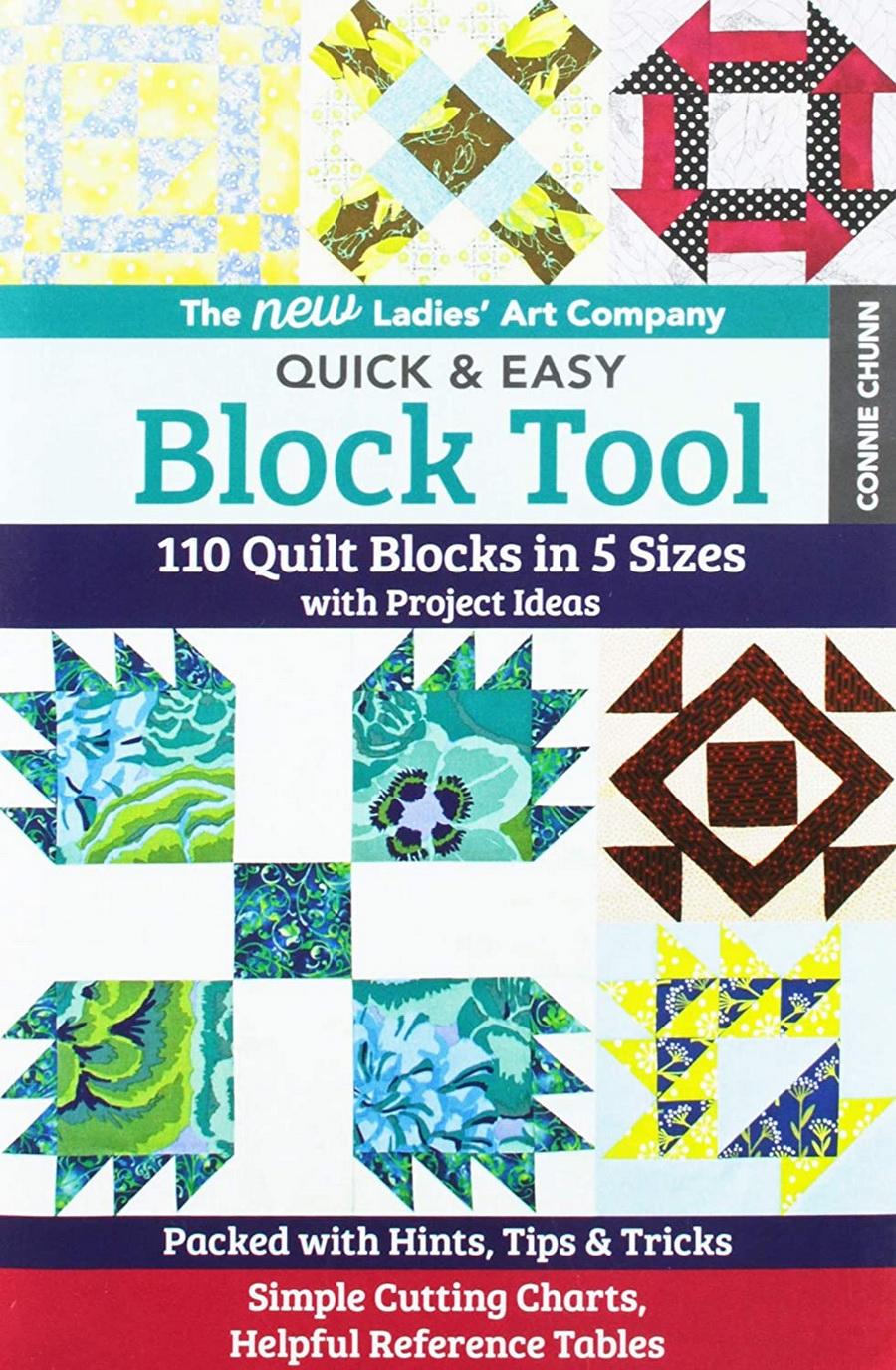 Ladies Art Company Quick & Easy Block Tool Acrylic Templates