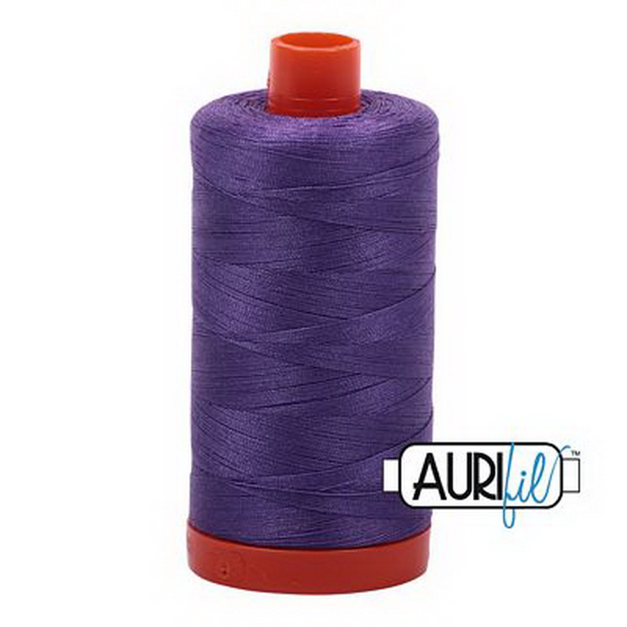 Aurifil Cotton Mako Thread 50wt 1300m 6ct DUSTY LAVENDER
