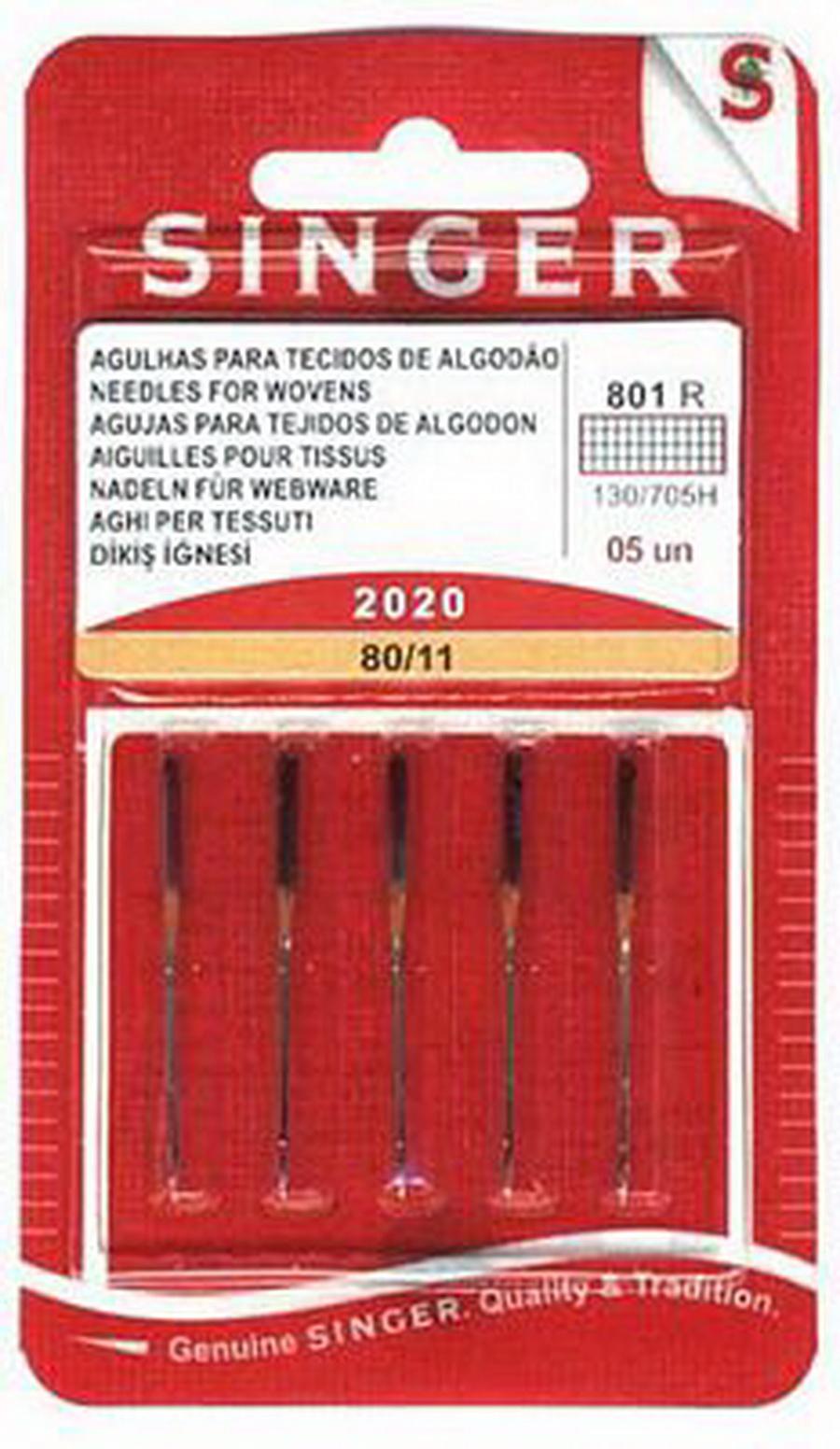 Singer Regular Point Needles 2020 - Size 11