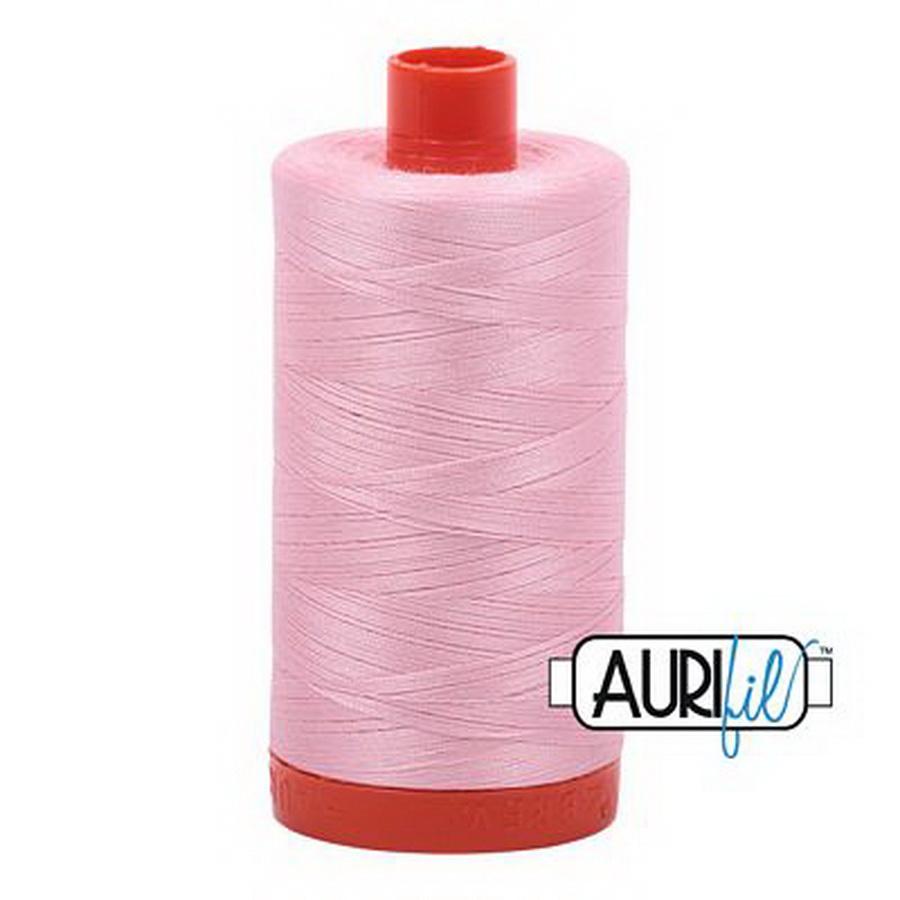 Cotton Mako 50wt Baby Pink 1300m Aurifil (2423)