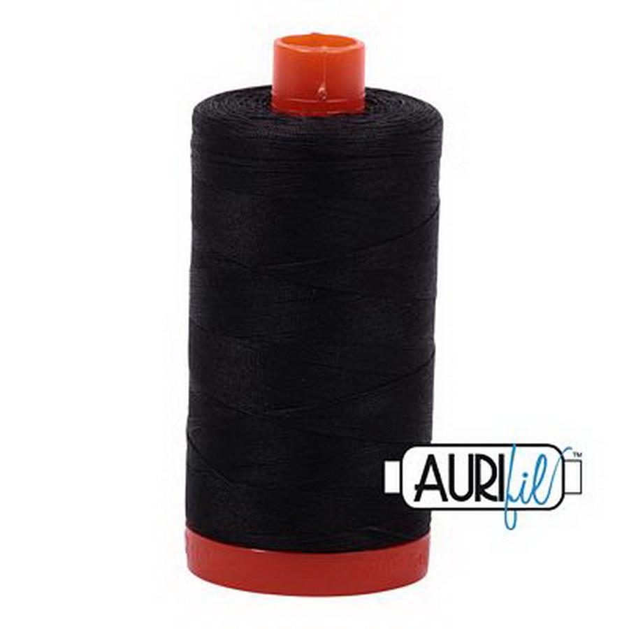 Aurifil Cotton Mako 50wt Very Dark Grey 1300m (4241)