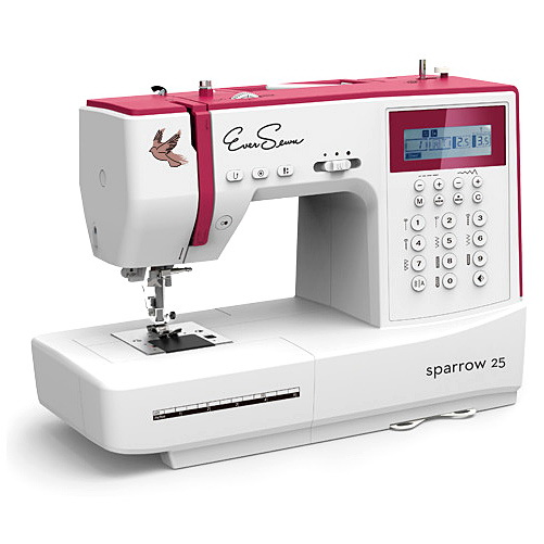 EverSewn Sparrow 25 -197 Stitch Computerized Sewing Machine