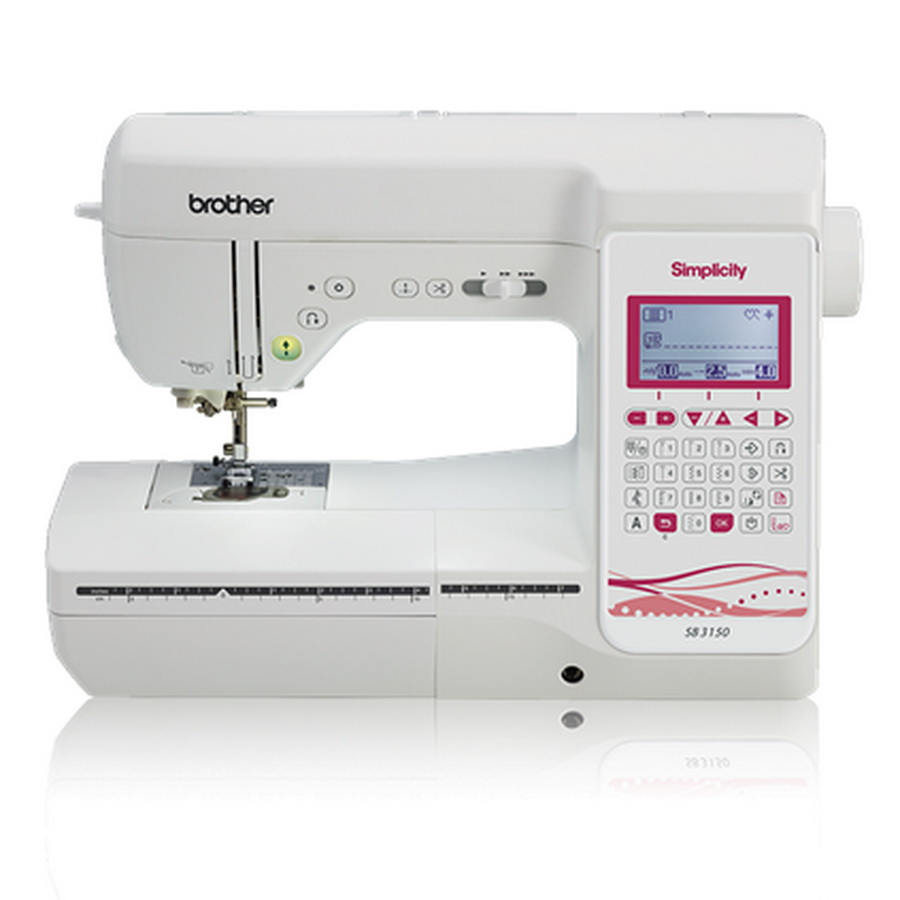 Brother Simplicity SB3150 Deluxe Computerized Sewing and Quilting Machine