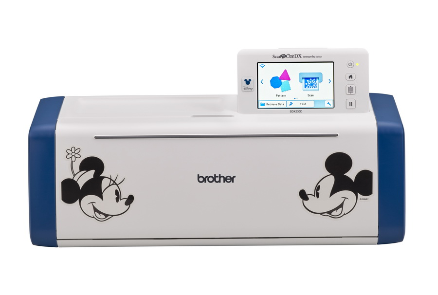 Brother Disney Limited-Edition Scan N Cut Electronic Cutting Machine (SDX230D) - FREE Roll Feeder Included