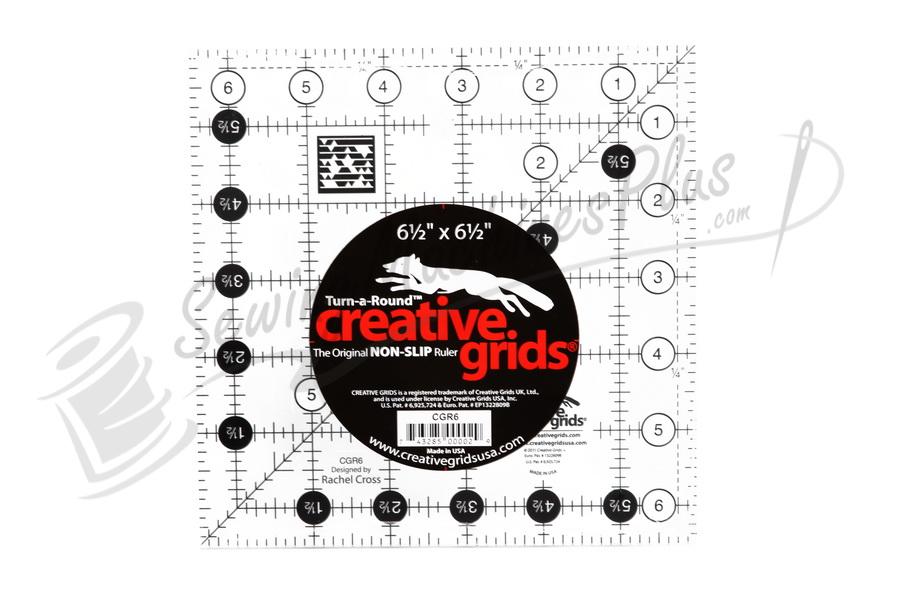 "CGR Creative Grids 6.5"" Quilting Ruler CGR6"