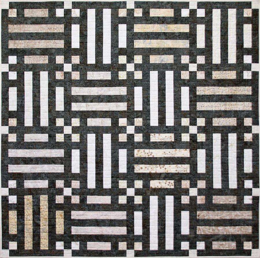Cindi McCracken Designs - Boardwalk Kit With Bali Poppy Noir Color Fabric Strip