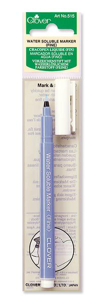 Clover Fine Point Water Soluble Marker (cl515)