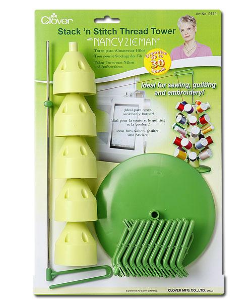 Stack n Stitch Thread Tower with Nancy Zieman By Clover