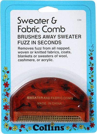 Collins d-fuzz-it Sweater & Fabric Comb (c99)