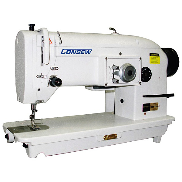 Consew 199R single-needle, drop-feed Stitch Type-1A w/ Table & Motor