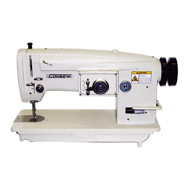 Consew 199R single-needle, drop-feed Stitch Type-2A w/ Table & Motor