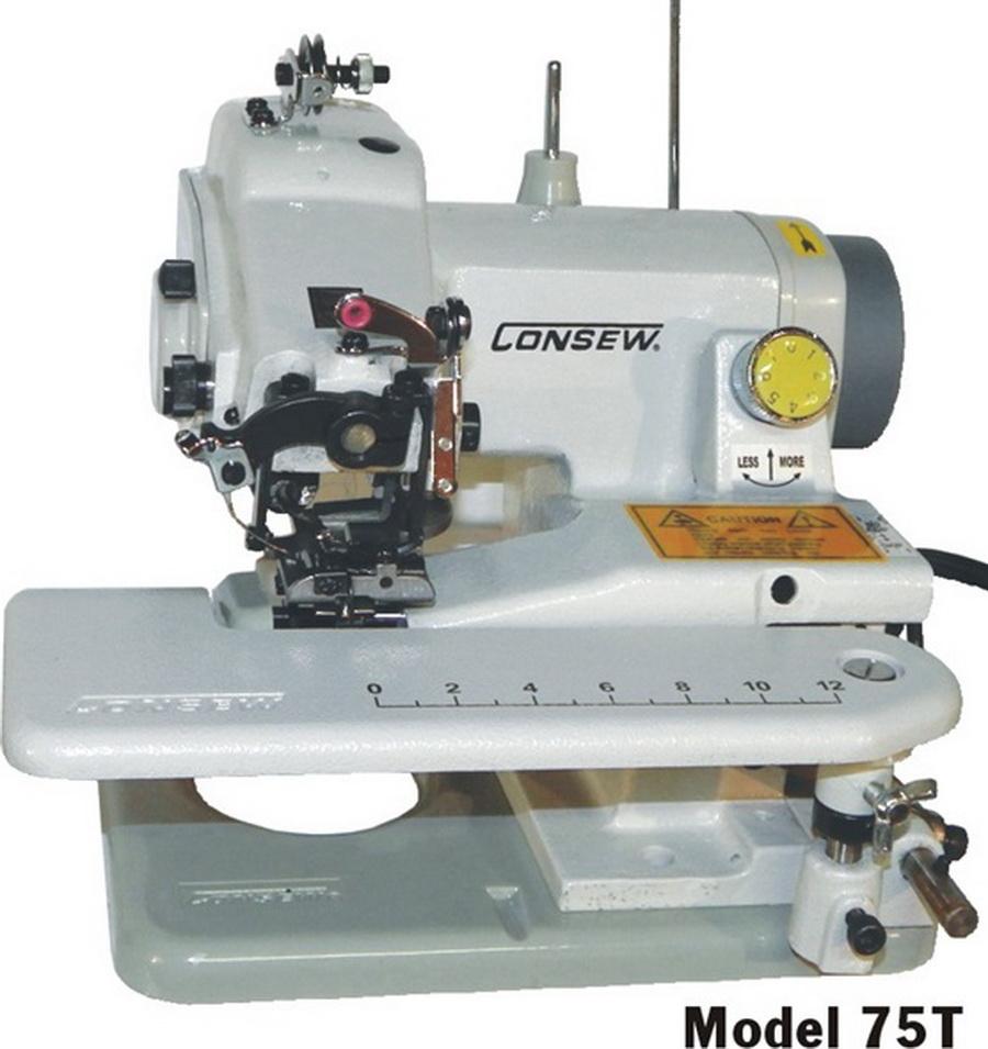 Consew 75T Portable Blind Hem Stitch Hemmer Machine