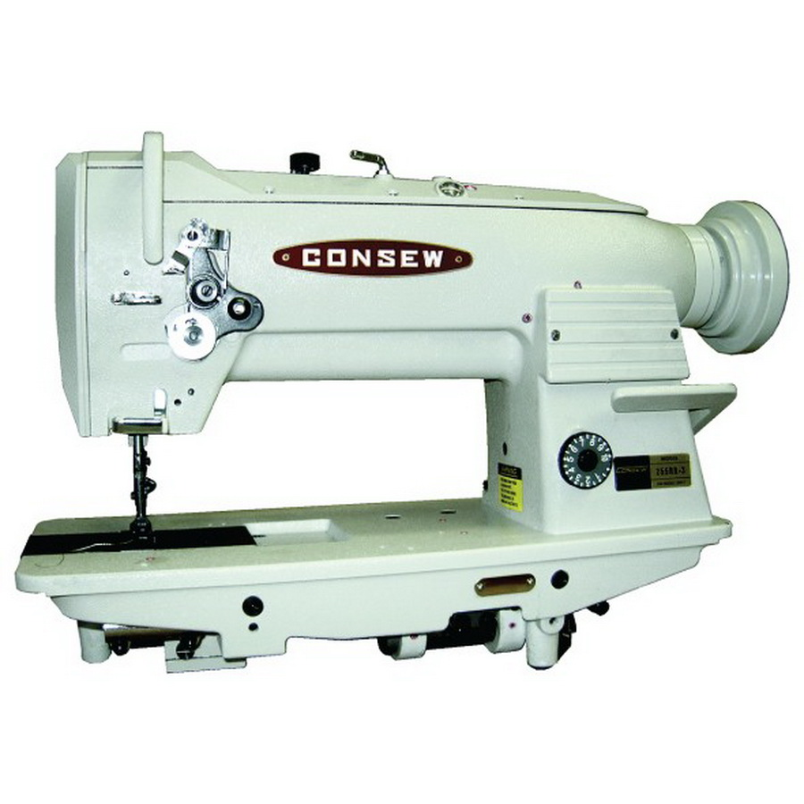 Consew 255RB-3 With Assembled Table and Servo Motor