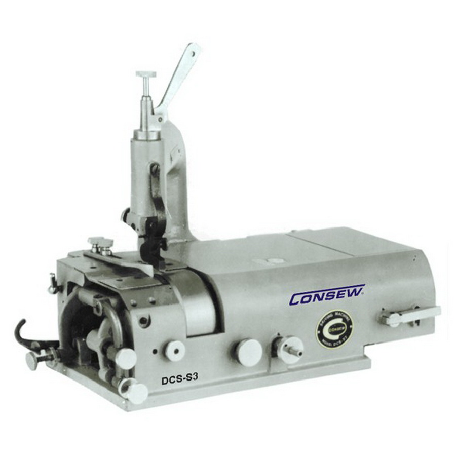 Consew DCS-S4 Skiving Machine with Assembled Table and Servo Motor