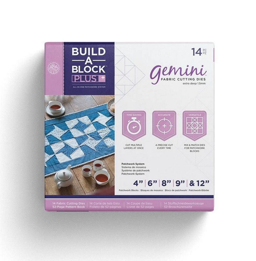 Gemini Build-A-Block Patchwork System PLUS