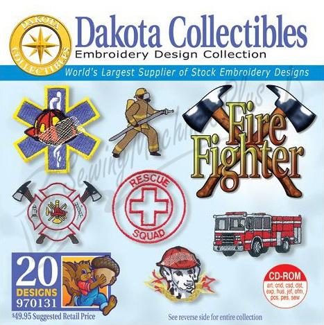 Dakota Collectibles Fire Fighter - 970131