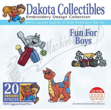 Dakota Collectibles Fun For Boys Embroidery Designs - 970225