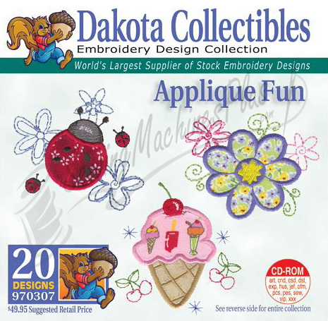 Dakota Collectibles Applique Fun Embroidery Designs - 970307