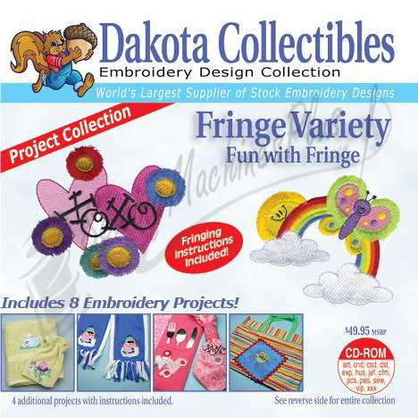 Dakota Collectibles Fringe Variety Embroidery Designs - 970308