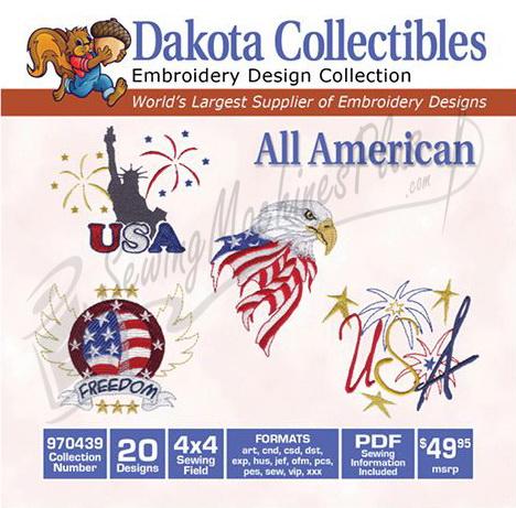 Dakota Collectibles All American 970439