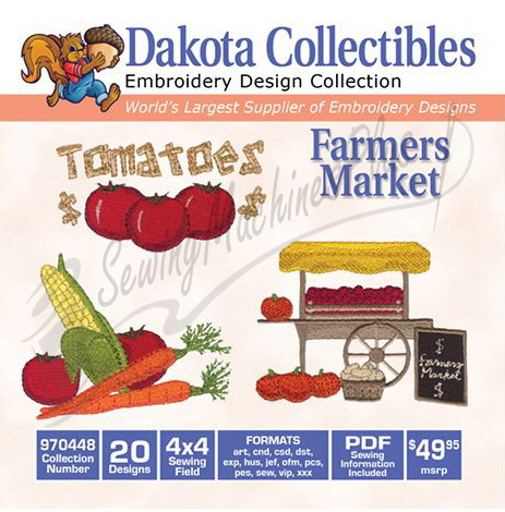 Dakota Collectibles Farmers Market 970448
