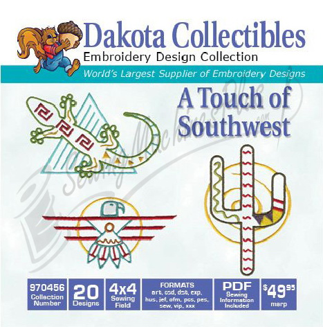 Dakota Collectibles Touch of Southwest 970456