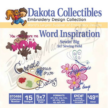 Dakota Collectibles Word Inspiration 970466
