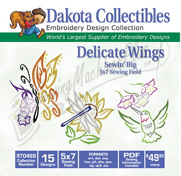 Dakota Collectibles Delicate Wings 970468
