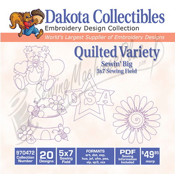 Dakota Collectibles Quilted Variety 970472