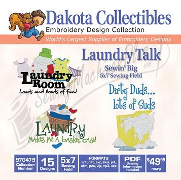 Dakota Collectibles Laundry Talks 970479