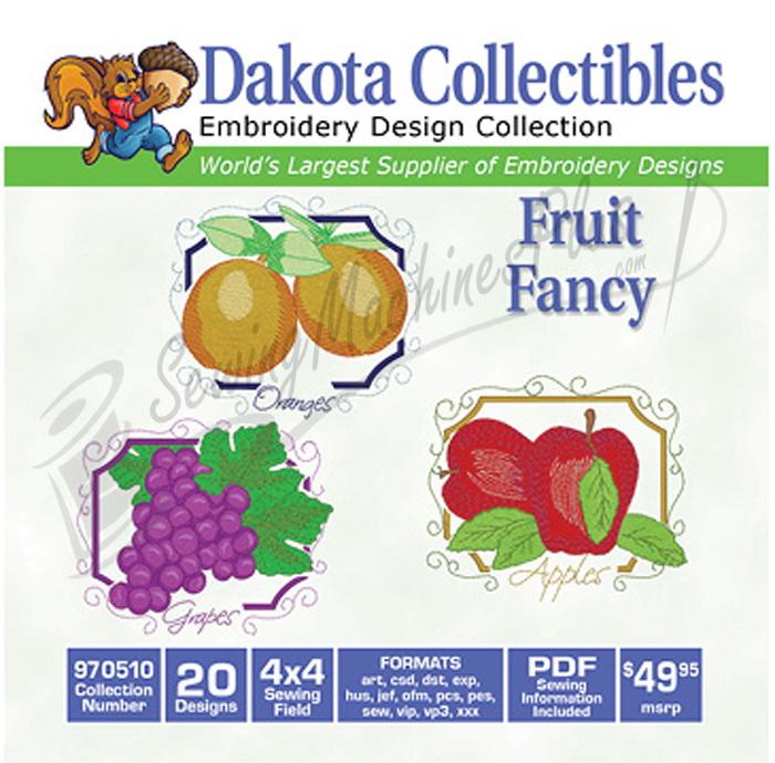 Dakota Collectibles Fruit Fancy 20 4x4 (970510)