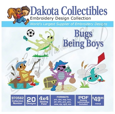 Dakota Collectibles - Bugs Being Boys (970562)