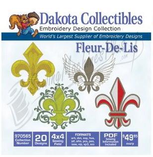 Dakota Collectibles - FLEUR-DE-LIS (970565)