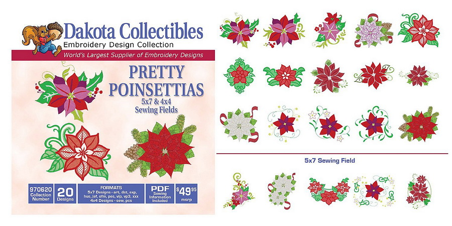 Dakota Collectibles - Embroidery Design Collections