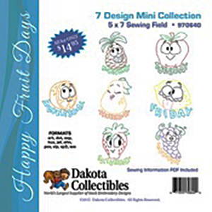 Dakota Collectibles Happy Fruit Days (970640)