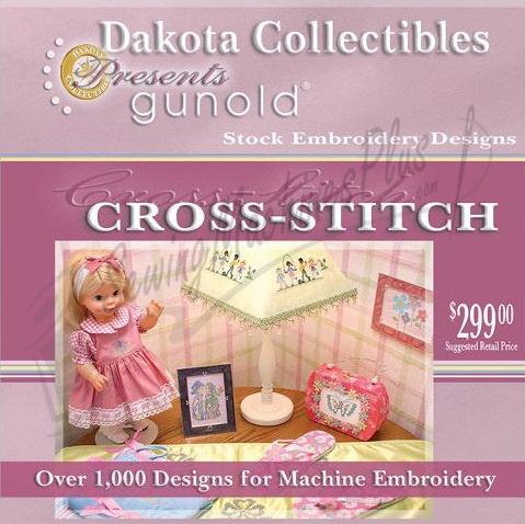 Dakota Collectibles Gunold Cross Stitch 1000 Embroidery Designs - CS1000