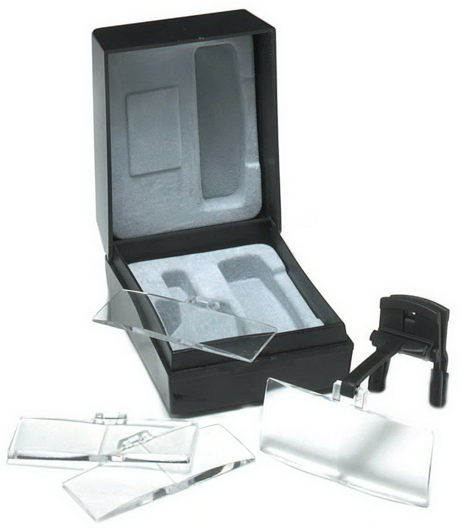 Clip-on Spectacle Magnifiers With 4 Lenses