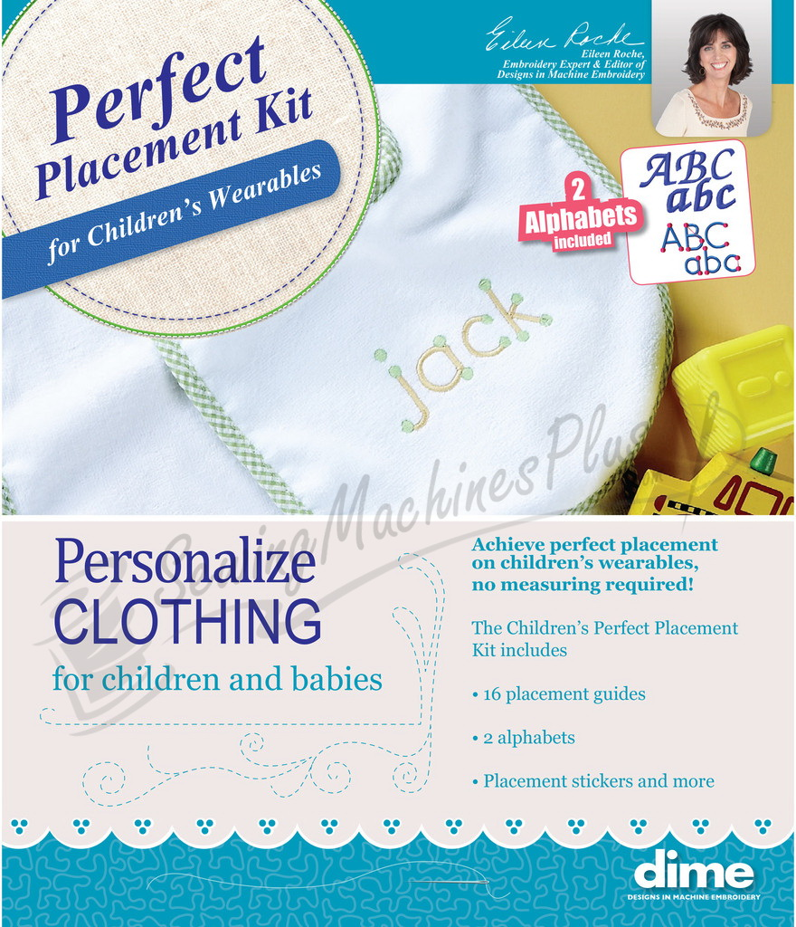 The Childrens Perfect Placement Kit by Designs in Machine Embroidery