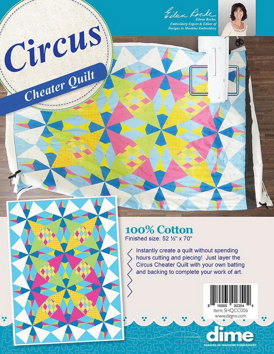 DIME - Circus Cheater Quilt