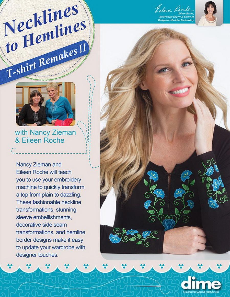 Dime Necklines to Hemlines T-shirt Remakes II With Nancy Zieman and Eileen Roche