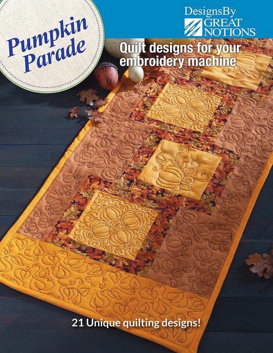 Dime Pumpkin Parade - Quilt Designs