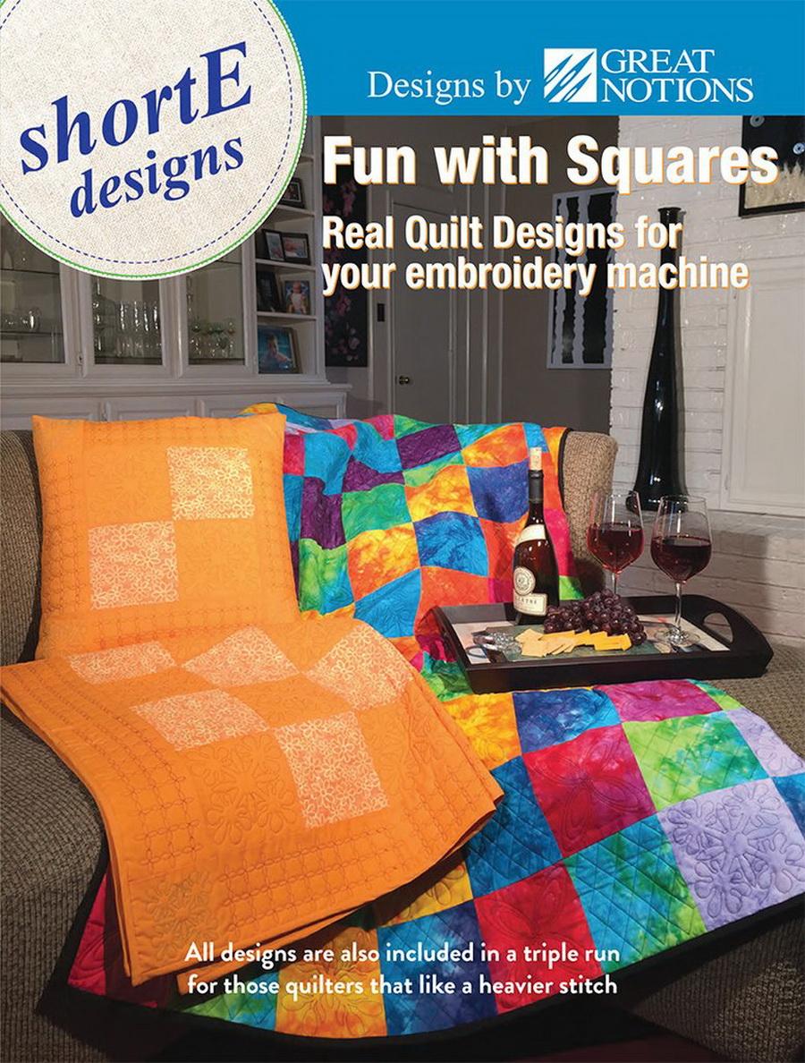 Dime shortE Fun with Squares - Quilt Designs