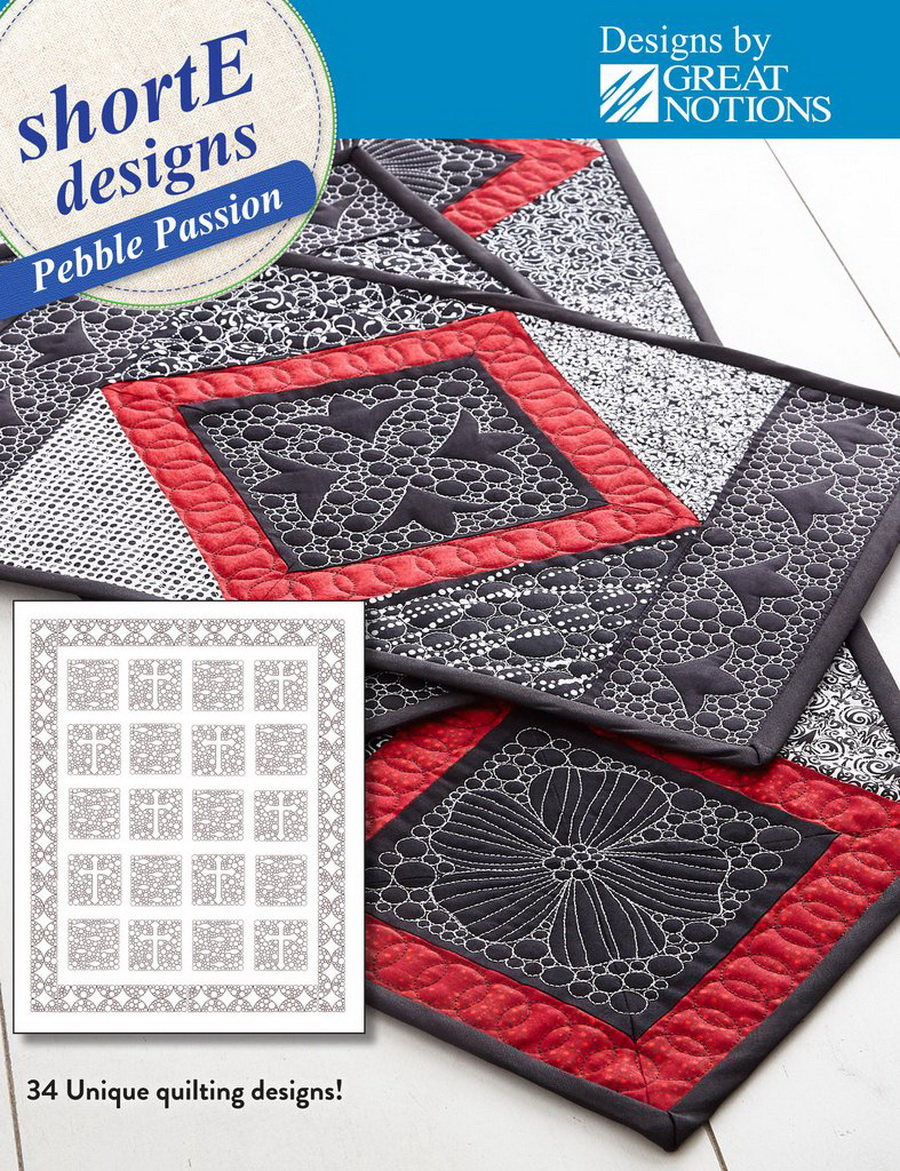 Dime shortE Pebble Passion - Quilt Designs