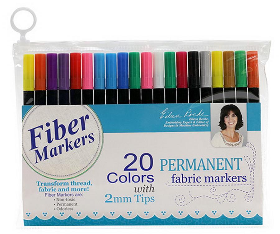 DIME - Fiber Markers: 20 Pack