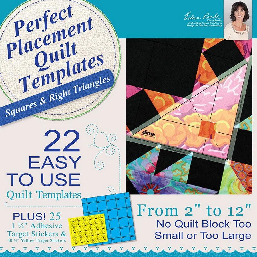 DIME - Perfect Placement Quilt Templates Bundle