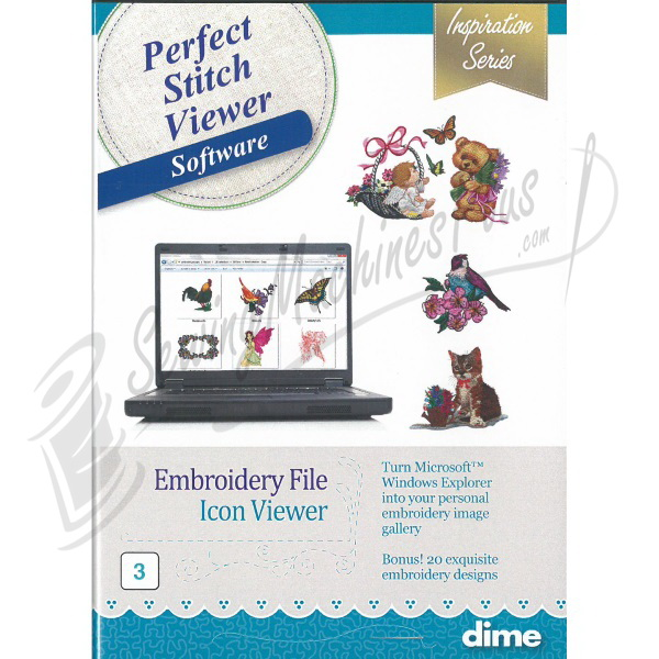 DIME Designs in Machine Embroidery Perfect Stitch Viewer Software