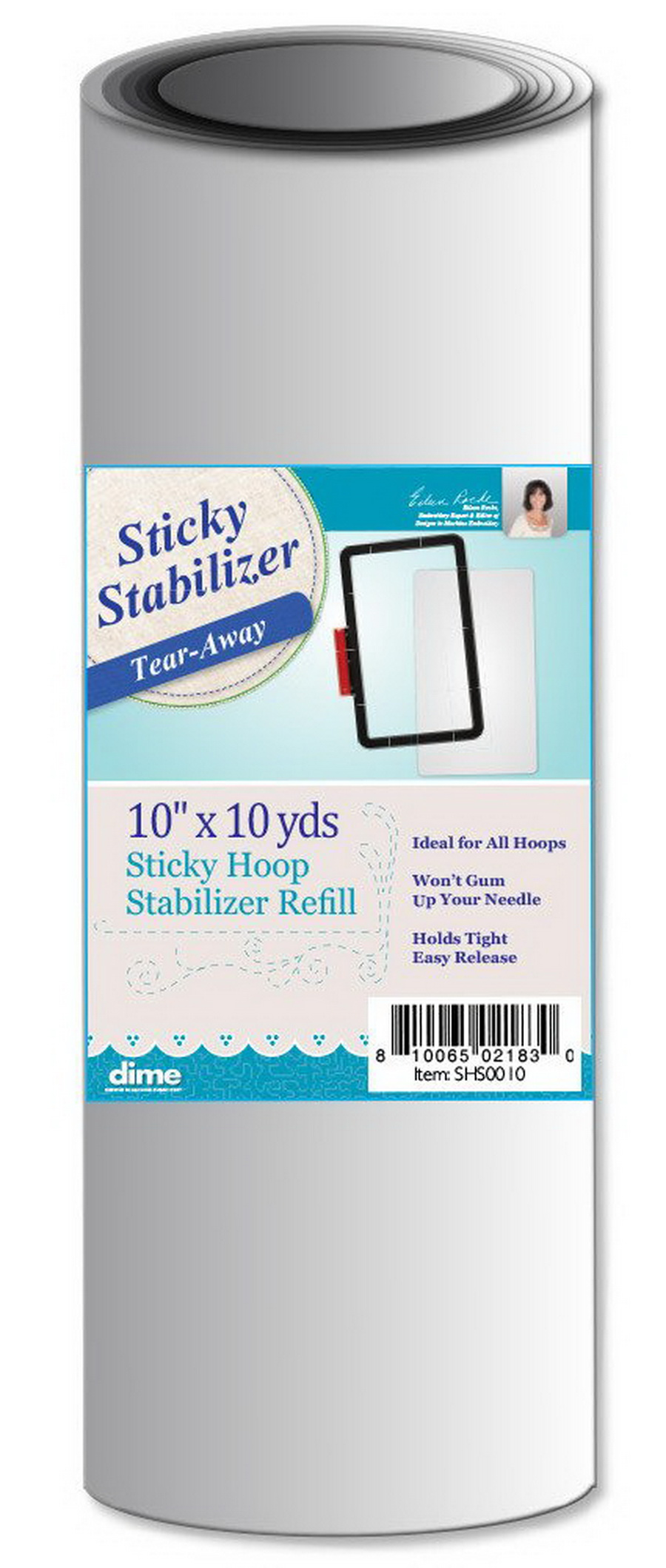 DIME - Sticky Hoop Stabilizer 10in X 10yds