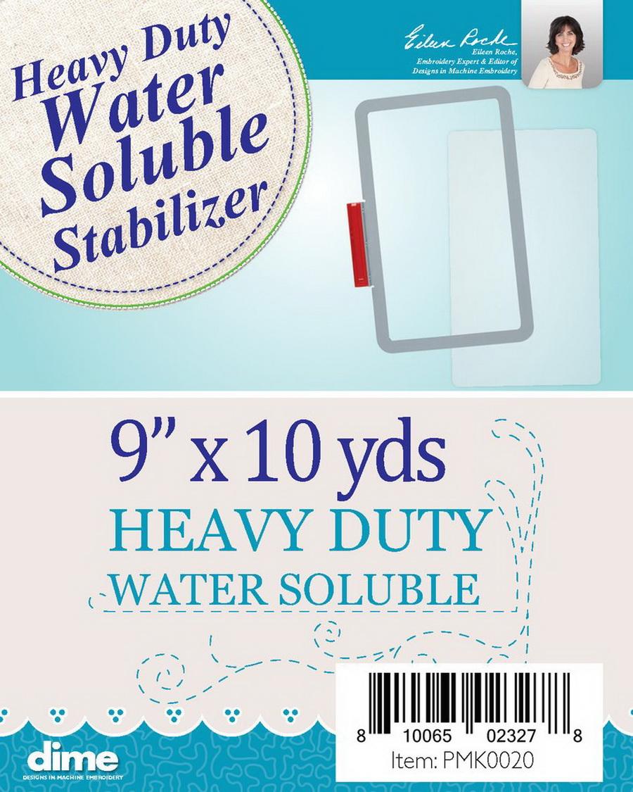 DIME - Heavy Duty Water Soluble 9in X 10yd Stabilizer