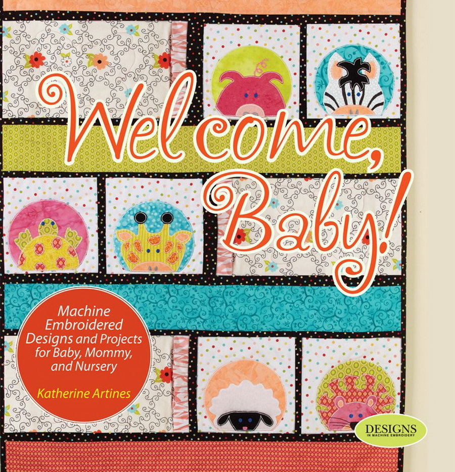 DIME - Welcome Baby! Book by Katherine Artines