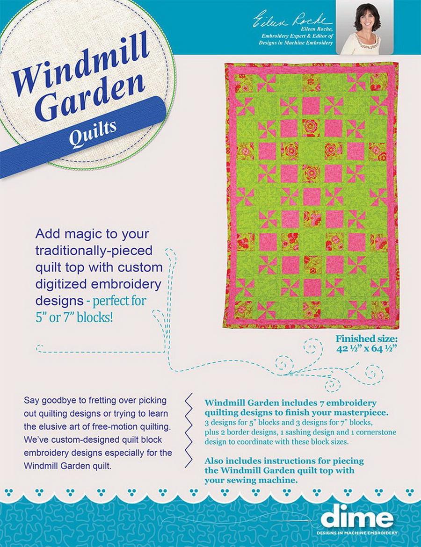 DIME - Windmill Garden Quilt